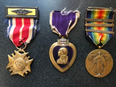 These are the medals from my great grandfather.