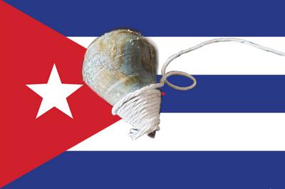 A Cuban children's toy called un Trompo