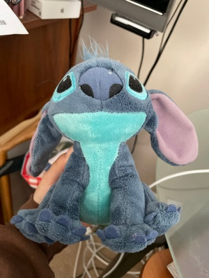 picture of the stitch stuffed toy