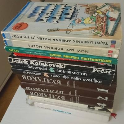 Books in Macedonian, English and Serbian