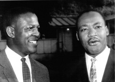 Dr. Willie with Dr. MLK