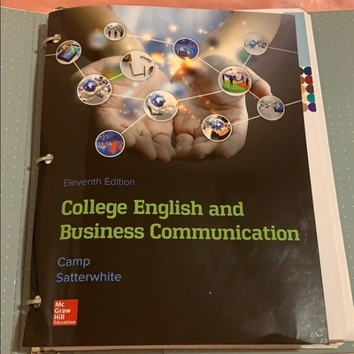 A textbook my mom used to study.