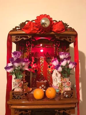 Chinese Worshiping Altar