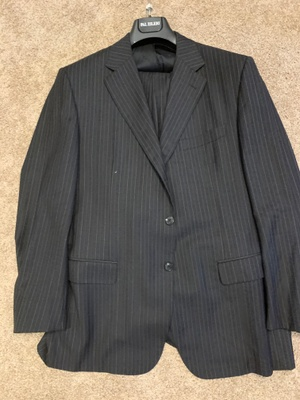 A suit from my grandpa's clothing store.