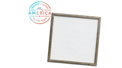 Julissa Arce's empty picture frame