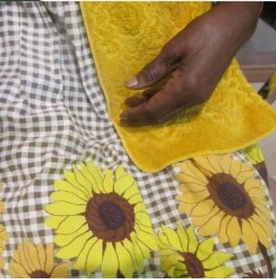 Hand-Sewn Apron