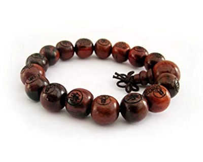 This is a Mala bracelet (mine is darker)