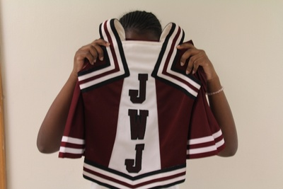 my cheerleading uniform
