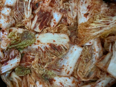 My mother's kimchi