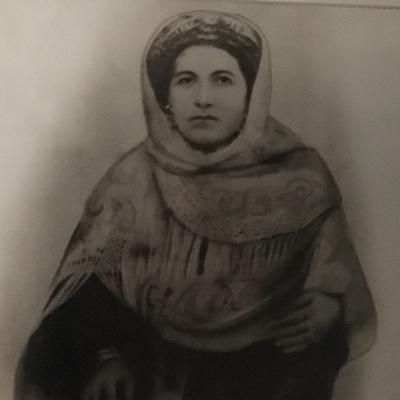 Mary's mother, Evangelia