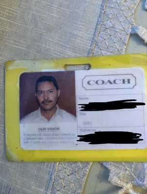 Father's work ID