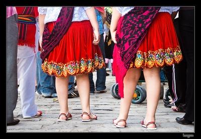 An Ecuadorian skirt
