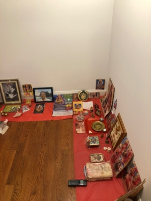 prayer room in my house