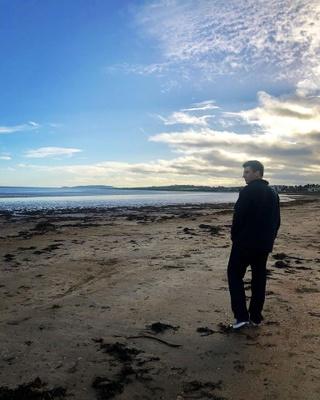 My boyfriend, Shane, when we were in Ireland in December.