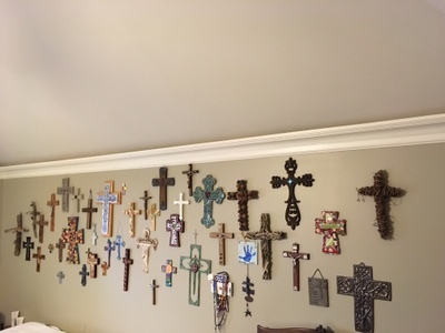 My parent's cross collection