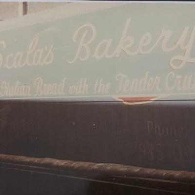 Scala's Bakery Truck, June, 1978
