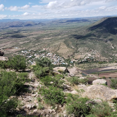 Mountain view of Escobedo taken last summer