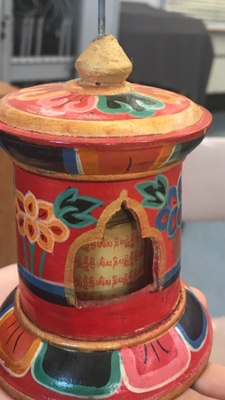 Prayer Wheel from Nepal.