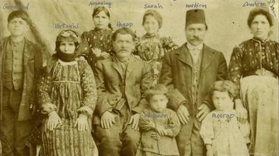 1913 Rare Family Photo Prior to Genocide