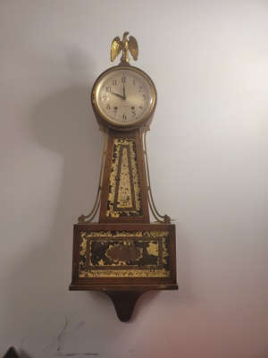 Photo of 1940's grandfather clock