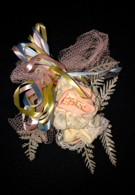 The corsage my mother received.