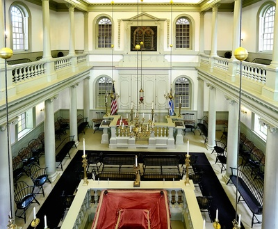 Touro Synagogue Interior Newport, RI