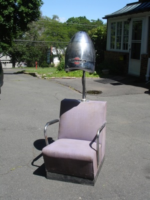 Vintage Dryer Chair w/ Normandie Beehive