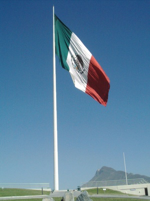 The Flag from mexico