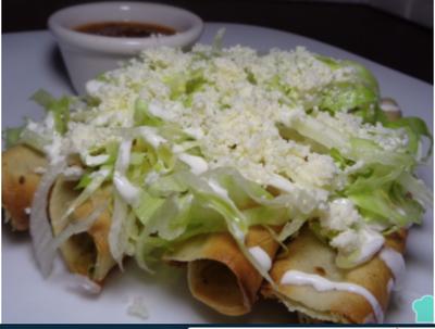 My favorite food: Tacos Dorados