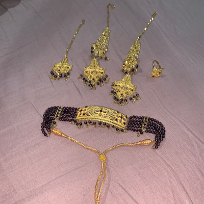 My grandma's jewelry for her wedding day