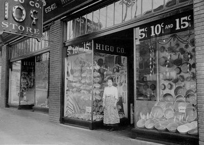 Higo 10 Cents Store, c. 1912