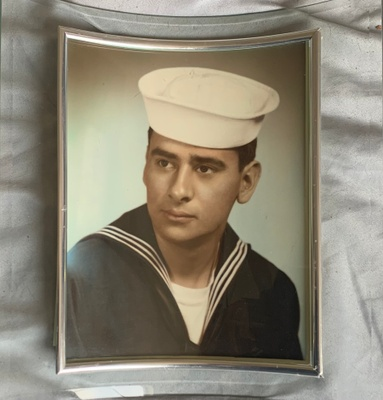 My grandfather's Navy photo