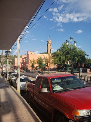 Santa Maria, a town an hour away from Ecsobedo