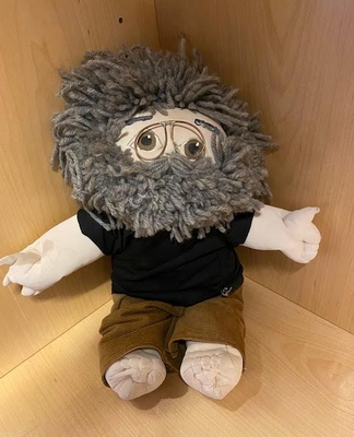 Plush Jerry Garcia Doll