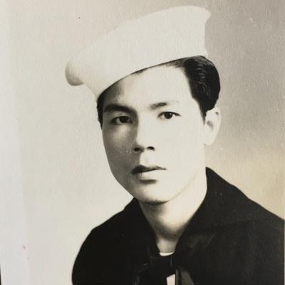 Jimmy Yip, merchant seaman circa 1944-45