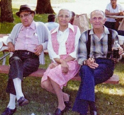 Paul, Jessie, and Ernest Griffin