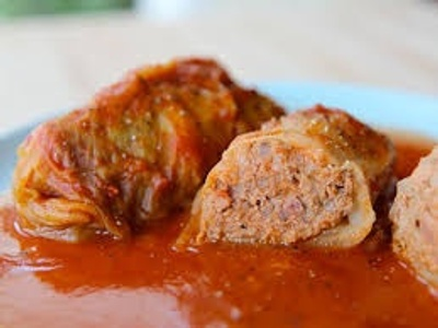 Halupki-Russian stuffed cabbage