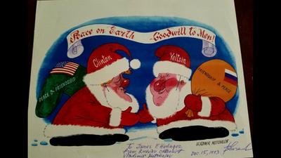 Russian Santa Comic
