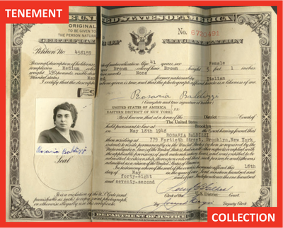Three years later in 1948, Rosaria becomes a Citizen of the United States.