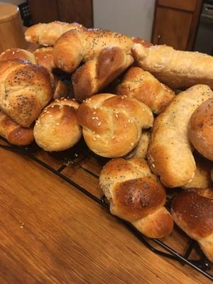 Rohliky/Grandma's rolls