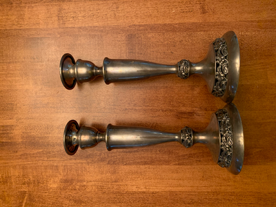 My Great Grandmothers Candlesticks