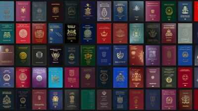 This is an image of passports.