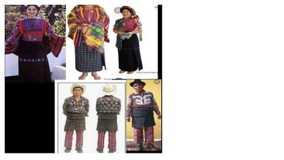 Traje Guatemalteco