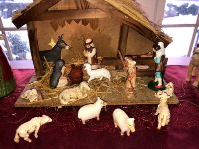 The Manger Scene Without Jesus