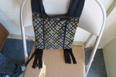 Traditional Chin bag.