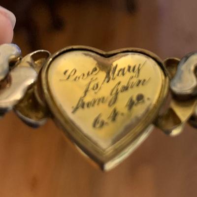 inside of bracelet