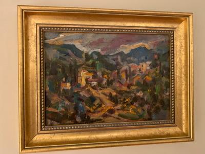 Painting by artist, Wilhelm Kaufmann
