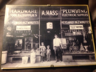My great-grandfather's hardware store