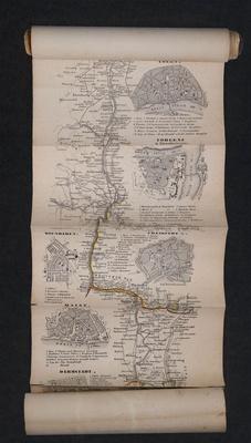 Anthony Reiff's map of the Rhineland