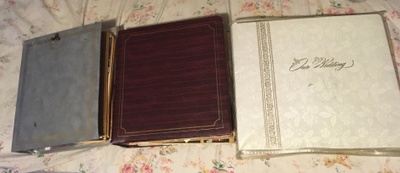 different styles of photo albums